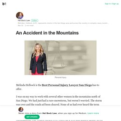 An Accident in the Mountains – Hel Bock Law – Medium