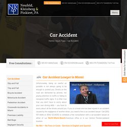 Car Accident Personal Injury Lawyer, Florida