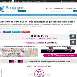 Accident de tram à Dijon : une campagne de prévention est relancée - France 3 Bourgogne