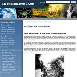 Accident de Tchernobyl