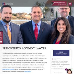 Tractor-Trailer Injury Claims