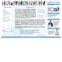 2)Accident du travail : Efficience Santé au Travail