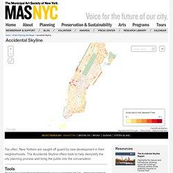 Accidental Skyline – The Municipal Art Society of New York