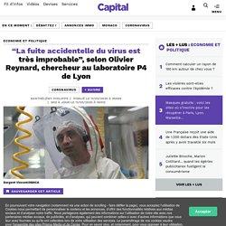"""""""La fuite accidentelle du virus est très improbable"""", selon Olivier Reynard, chercheur au laboratoire P4 de Lyon..."""
