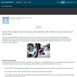 Save Your Kids from Driveway Accidents with a Reversing Camera in Australia: reversecamera