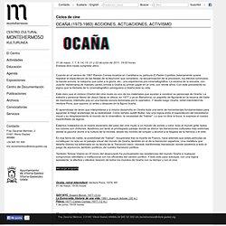 CINE ocaña (1973-1983) acciones, actuaciones, activismo