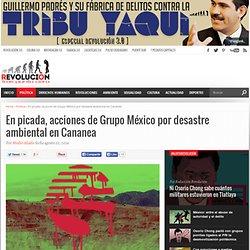 En picada, acciones de Grupo México por desastre ambiental en Cananea