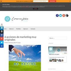 6 acciones de marketing muy originales