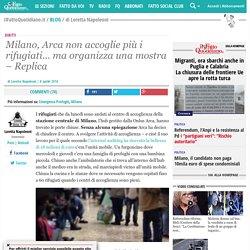 Milano, Arca non accoglie più i rifugiati... ma organizza una mostra