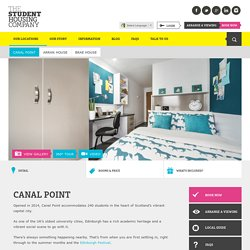 Student Accommodation Edinburgh 2014/15