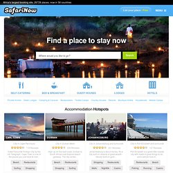 South Africa Accommodation | Largest Accommodation Booking Site in Africa, 14277 establishments!