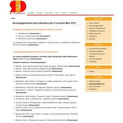 Accompagnamento alle Indicazioni per il curricolo Miur 2012
