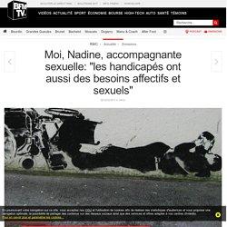 Moi, Nadine, accompagnante sexuelle: « les handicapés ont aussi des besoins affectifs et sexuels »