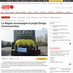 La Région accompagne le projet Design Communication