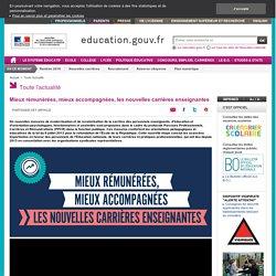 Mieux rémunérées, mieux accompagnées, les nouvelles carrières enseignantes