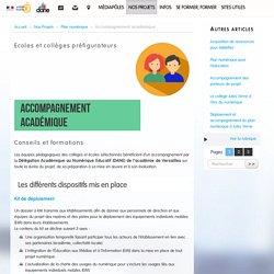 Accompagnement académique - Délégation académique au numérique éducatif