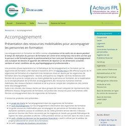 Accompagnement - Acteurs FPL