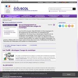 Travaux académiques mutualisés (TRAAM) - Un accompagnement du développement des usages des TIC