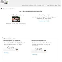 COURS e-learning BTS Management 1ère année