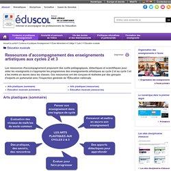 Éducation musicale - Ressources d'accompagnement enseignements artistiques aux cycles 2 et 3