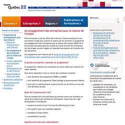 Accompagnement des entreprises pour la relance de l'emploi>Entreprises>Emploi-Québec