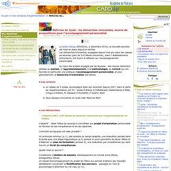Réforme du lycée: les démarches innovantes, source de propositions pour l'accompagnement personnalisé - Mission à l'évaluation et à l'innovation pédagogique