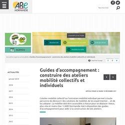 Guides d'accompagnement : construire des ateliers mobilité collectifs et individuels