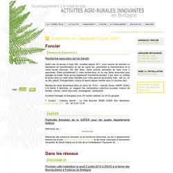Accompagnement à la création des ACTIVITES AGRI-DURABLES INNOVANTES en Bretagne