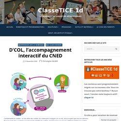 D'COL, l'accompagnement interactif du CNED – ClasseTICE 1d