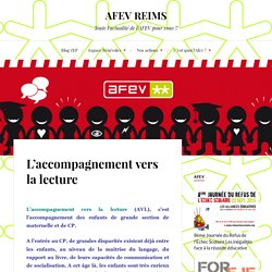 L'accompagnement vers la lecture – AFEV REIMS