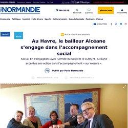 Au Havre, le bailleur Alcéane s'engage dans l'accompagnement social - Social - Paris Normandie