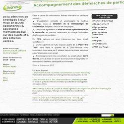 Accompagnement des démarches de participation citoyenne - Grand Lyon. Arenes.org