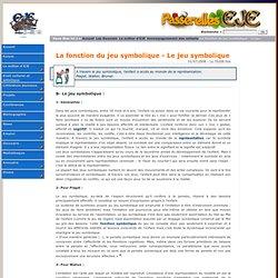 La fonction du jeu symbolique - Le jeu symbolique Accompagnement des enfants Le métier d'EJE