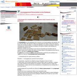 Accompagnement Personnalisé en Arts Plastiques- Arts plastiques