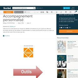 Brochure outils Accompagnement personnalisé