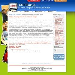 Ateliers d'accompagnement à la recherche d'emploi - Arobase espace public multimédia de Pierrefitte-sur-Seine