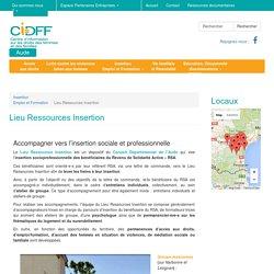 Accompagnement vers l'insertion sociale et professionnelle (bénéficiaires du RSA) - CIDFF de l'Aude