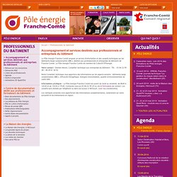 Pôle Energie Franche-Comté : Questions les plus fréquentes