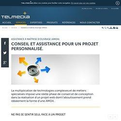 Conseil et accompagnement dans la conception et la réalisation d'un projet web et digital - Telmédia