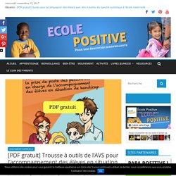 [PDF gratuit] Trousse à outils de l'AVS pour l'accompagnement des élèves en situation de handicap