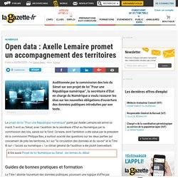 Open data : Axelle Lemaire promet un accompagnement des territoires