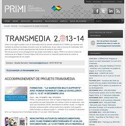 Accompagnement de projets transmédia