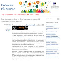 Comment les innovations en digital learning accompagnent la transformation de la formation ?
