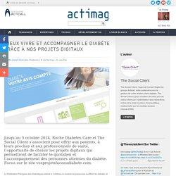 Mieux vivre et accompagner le diabète grâce à nos projets digitaux