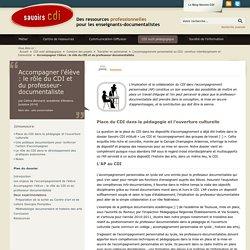 Accompagner l'élève : le rôle du CDI et du professeur-documentaliste