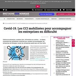Covid-19. Les CCI mobilisées pour accompagner les entreprises en difficulté