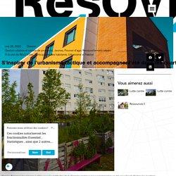 S'inspirer de l'urbanisme tactique et accompagner l'été dans les quartiers - Résovilles