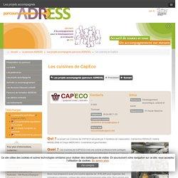 Les projets accompagnés (parcours ADRESS) - Les cuisines de CapEco