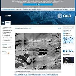 Mission accomplie: Rosetta termine son voyage par une descente magistrale vers sa comète / France