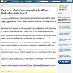 Focal points of enlisting an Accomplished and Master Electrical contractor in need